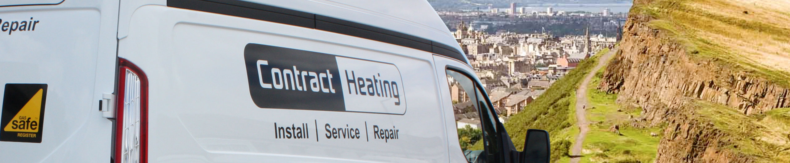Contract Heating vehicle driving in Edinburgh